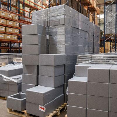 Ice Box pronti per l'uso-Ice Box ready for use-Ice Box listo para usar