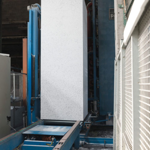Produzione blocco polistirolo-EPS block production-EPS listo para procesar